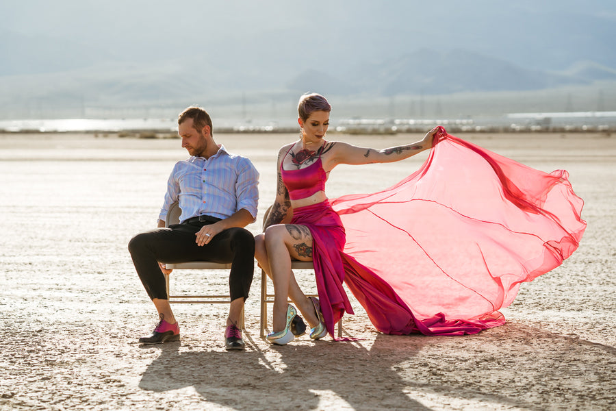 Bridal - Unique Wedding Dresses | Kelsie and Jordan's Mojave Desert Wedding