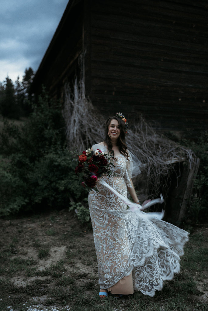 Blush Bridal and Elika In Love wanting wedding dresses in Vancouver to shop bridal looks for sophisticated bride.