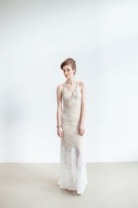 Crete | Backless Lace Wedding Dress