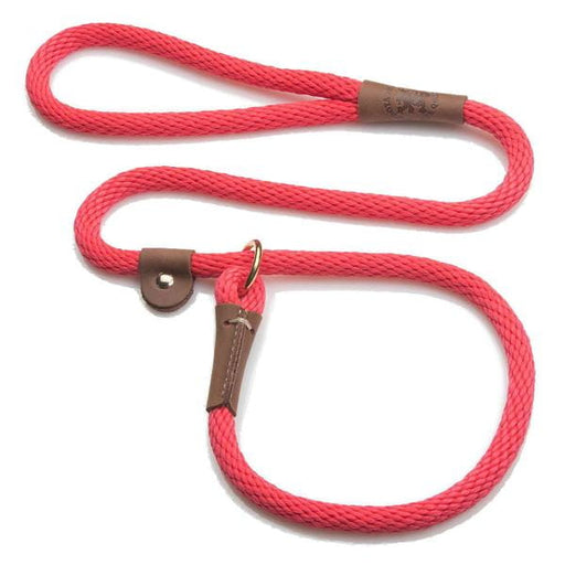 4 Foot Rope Slip Lead - 1/2 inch width - Range of Colours