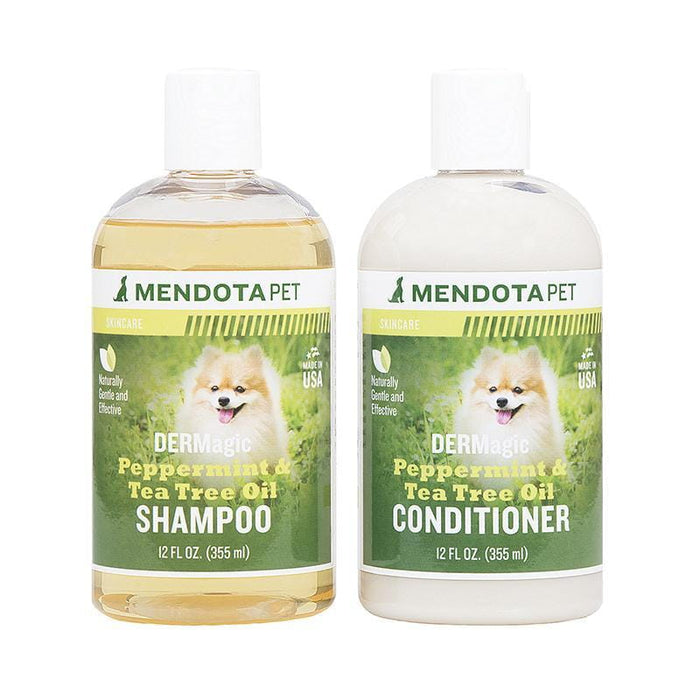 Dermagic Peppermint & Tea Tree Oil Shampoo and Conditioner Pack