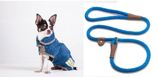 Christmas Gift - Ruff and Tumble Dog Drying Coat and matching slip Lead for only an additional £5