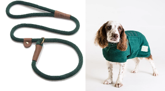 Buy and Save - Ruff and Tumble Dog Drying Coat and matching slip Lead for only an additional £5