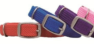 "Double Braid Junior Dog Collar - 9/16"" wide"