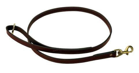 Leather Snap Dog Lead - 6 Foot