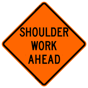 Shoulder Work Ahead (RUS)