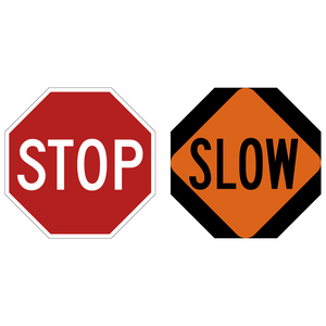 Stop / Slow Paddle