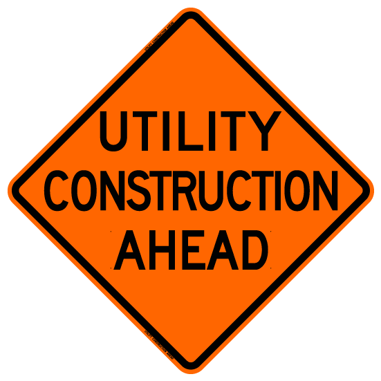 Utility Construction Ahead (RUS)