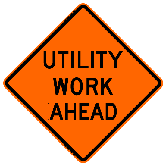 Utility Work Ahead (RUS)