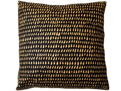 Brushstroke Gold Box Cushion