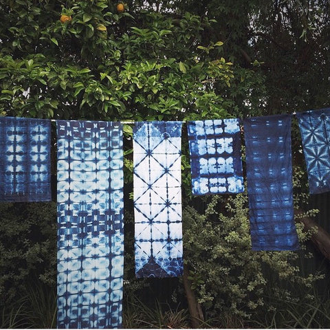 Indigo Shibori Workshop | 28 November 2015