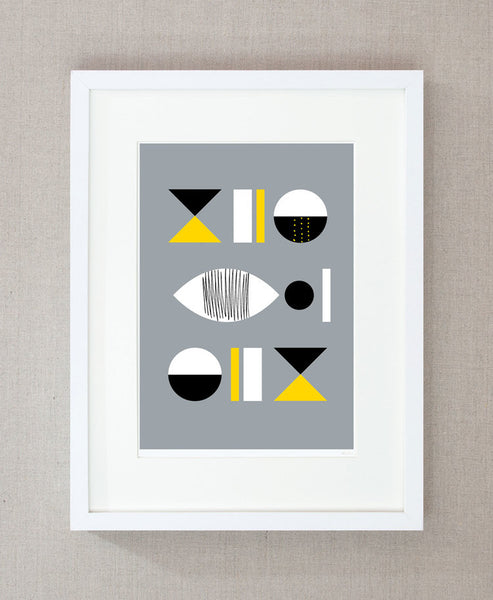 Table Setting - Print FRAMED