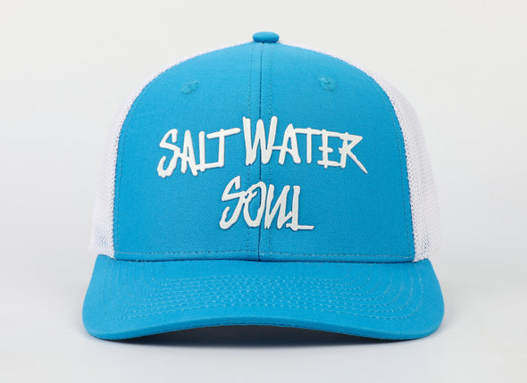 SaltWaterSoul Logo Fitted Hat