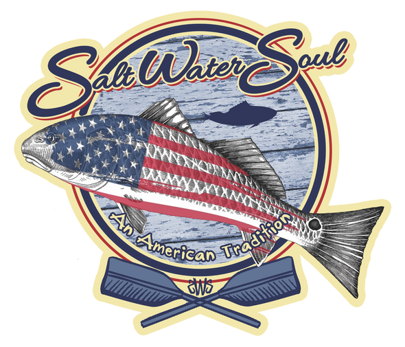 An American Tradition Decal - saltwater-soul