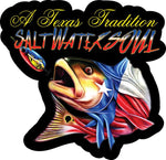 Texas Tradition Decal - saltwater-soul