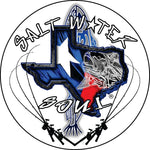 Texas Six Pack Decal - saltwater-soul