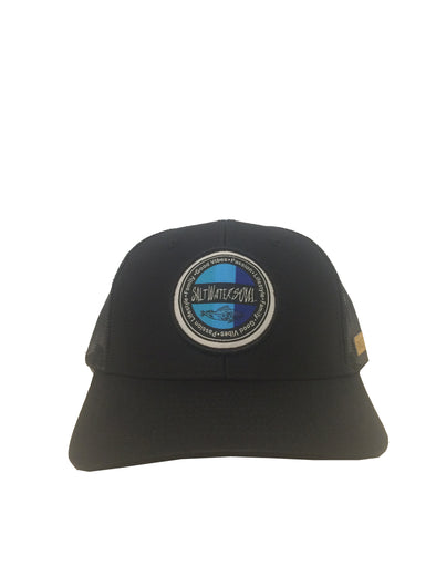 Goodvibes Mesh Snapback Hat - Black