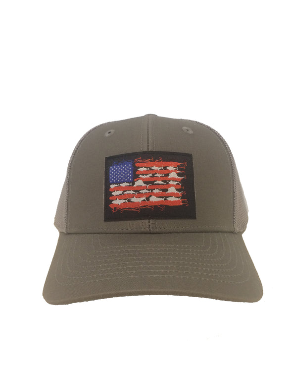 Fishing Stripes FlexFit Hat