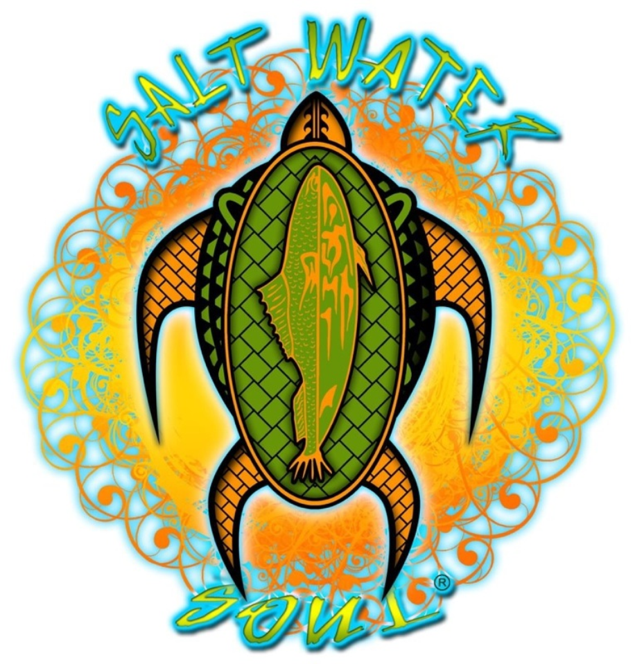 Hawaiian Turtle Decal - saltwater-soul