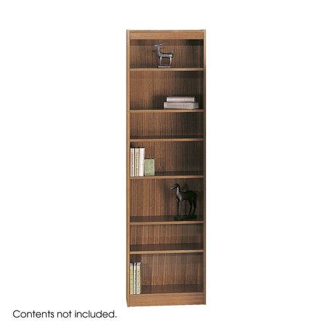 "7-Shelf Veneer Baby Bookcase, 24""W"