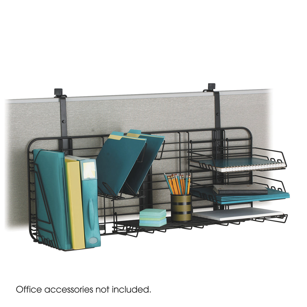 GridWorks® Compact Panel Organization System, Black