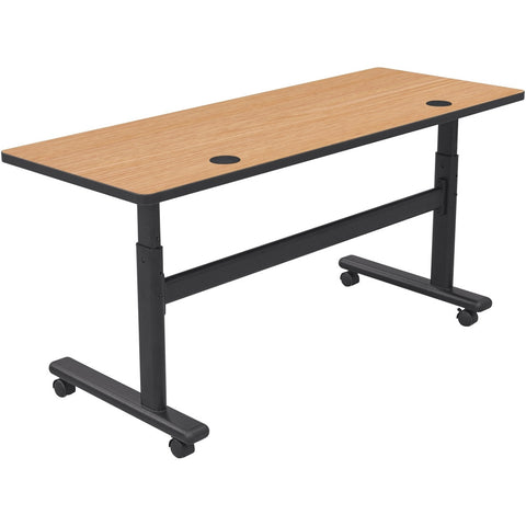Height Adjustable Sit and Stand Flipper Table-6024