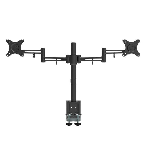 "Loctek D2D Full Motion Dual Arm Desk Monitor Mount Stand(10""-27"", MAX. 22 LBS)"