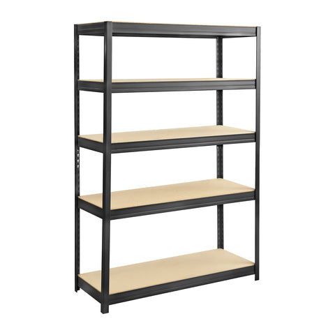 Boltless Steel and Particleboard Shelving