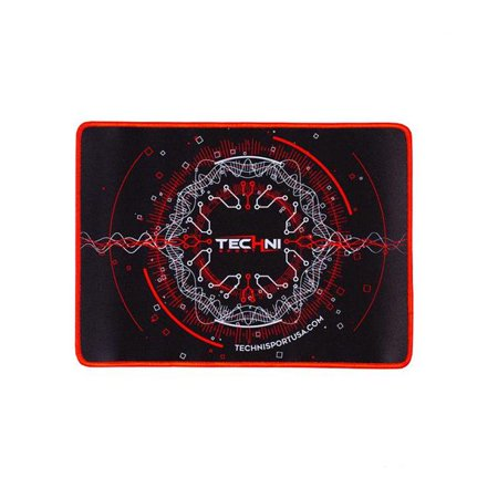 "Techni Sport Ultimate Circuit Gaming Red Mouse Pad 14"" x 10"""