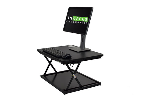 Uncaged Ergonomics: ChangeDesk Mini Standing Desk Conversion