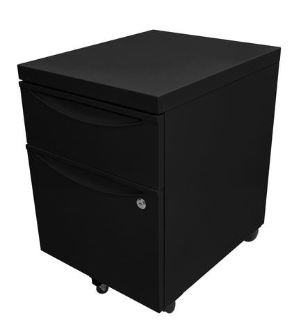 Mobile Pedestal File Cabinet w/ Locking Drawer