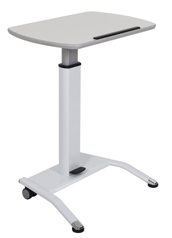 LX-PNADJ-WH - Pneumatic Height Adjustable Lectern