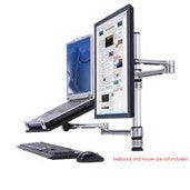 6915 Laptop Holder with Flat Screen Monitor Arm