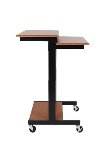 Adjustable Height Presentation Workstation