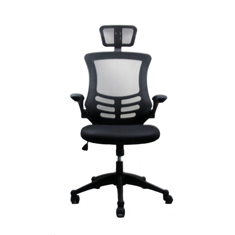 Techni Mobili Executive High Back Chair with Headrest