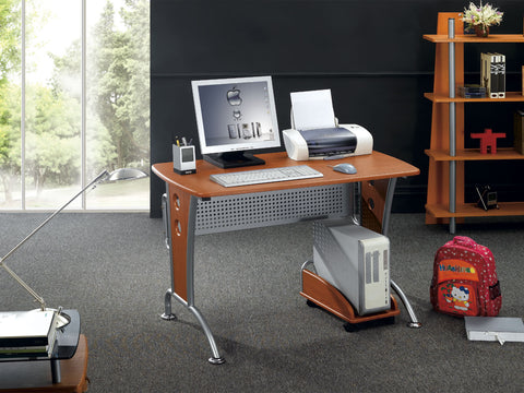 Techni Mobili Computer Desk with CPU Caddy