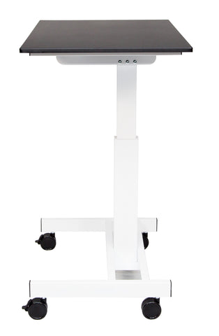 40″ Single Column Crank Stand Up Desk