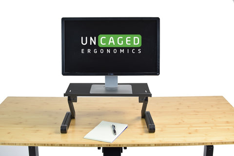 UNCAGED ERGONOMICS: WorkEZ Monitor Stand