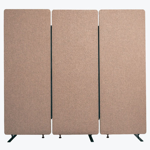 RECLAIM Acoustic Room Dividers - 3 Pack in Desert Sand