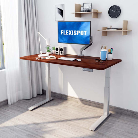 Flexispot: Electric Height Adjustable Desk: 3-Stage C-Leg Option E7