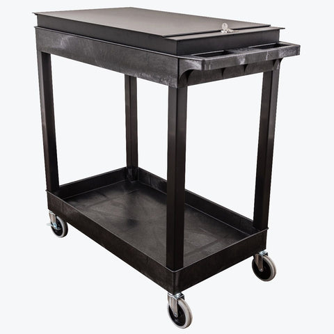 "32"" x 18"" Tub Cart - Two Shelves"
