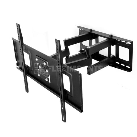 "Fleximounts A04 Full Motion Articulating Swivel Tilt & Rotate TV Wall Mount Bracket 37""-60"" HD LED/LCD Screen"