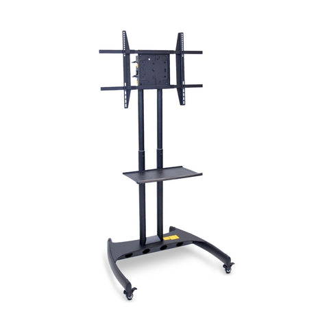 Adjustable-Height Rotating LCD TV Stand + Mount