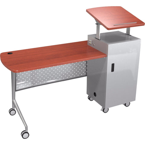 Economy Trend Podium Desk - Cherry