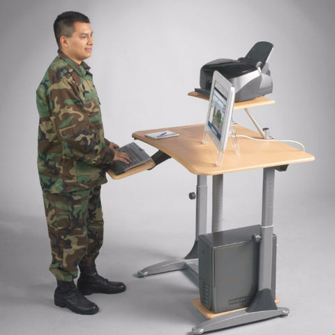 Ergo E. Eazy Ergonomic Adjustable Workstation