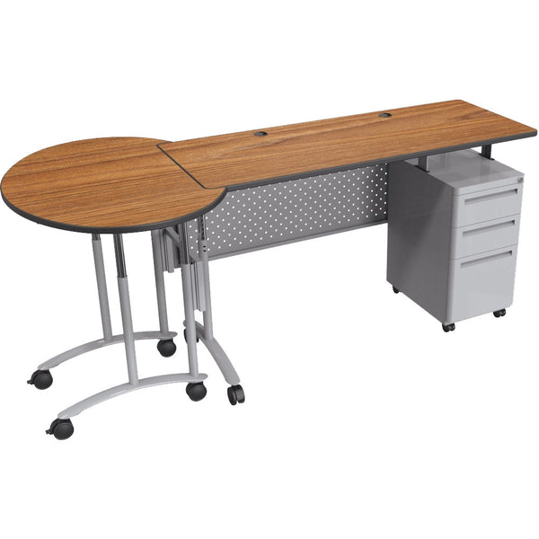 Modular Teacher S Sit Stand Conference Desk Set Sitting