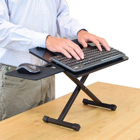 UNCAGED ERGONOMICS: KT3 Standing Keyboard Stand