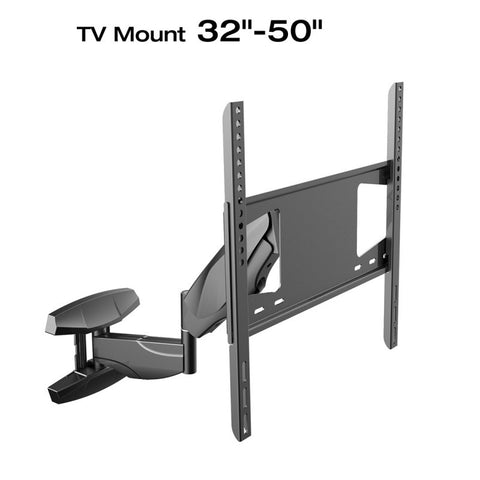 Loctek S1 Interactive Articulating Up and Down Full Motion TV Wall Mount Bracket for 32-50 Inches LCD/LED