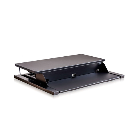 Electric Level Up Pro 32 Standing Desk Converter, Black