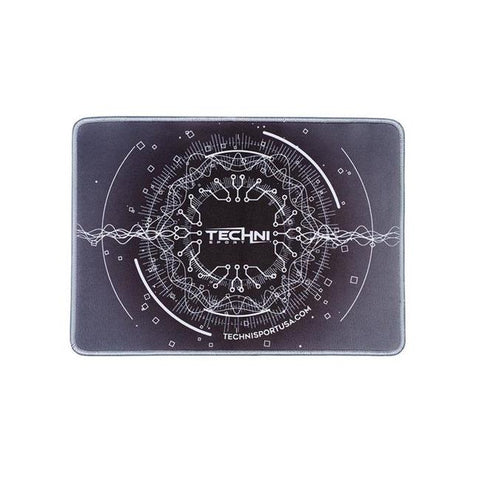 "Techni Sport Ultimate Circuit Gaming Grey Mouse Pad 14"" x 10"""